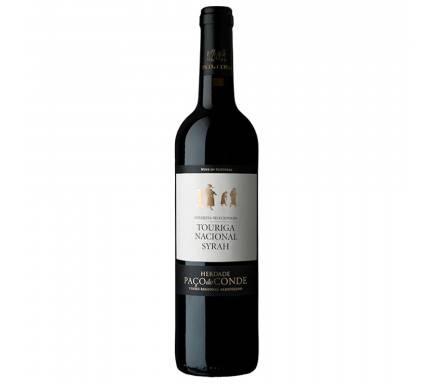 Red Wine Paço Do Conde Touriga Nacional e Syrah 75 Cl