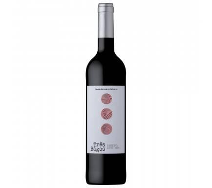 Vinho Tinto Douro Três Bagos Reserva 75 Cl