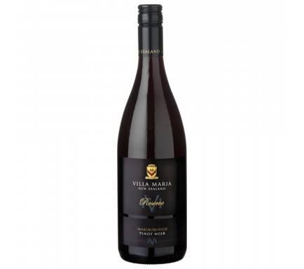 Red Wine Villa Maria Reserve Marlborough Pinot Noir 75 Cl