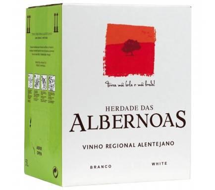 """WHITE WINE ALBERNOAS 5 L """"BAG IN BOX"""""""