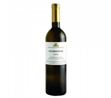 White Wine Casa Santos Lima Chardonnay 75 Cl
