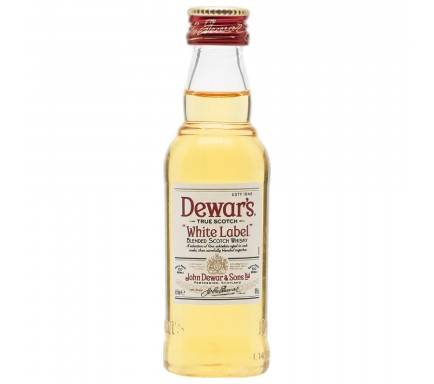 MINI WHISKY DEWAR'S 5 CL