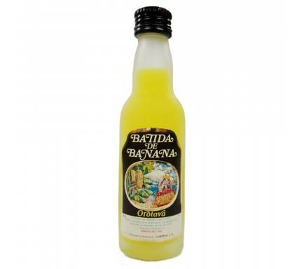 LICOR CAMPENY BATIDA BANANA 4 CL