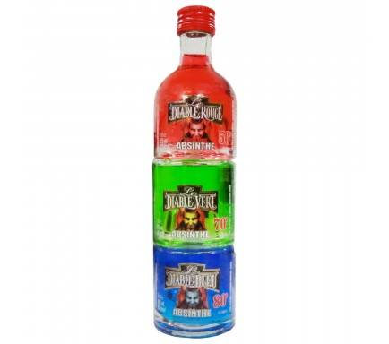 Pack 3X Absinthe Apilable 5Cl
