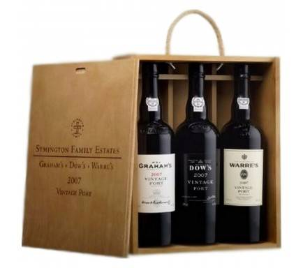 PORTO CONJUNTO SYMINGTON VINTAGES 2007 (3*75CL)