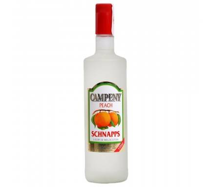 Licor Campeny Schnapps Pessego 1 L
