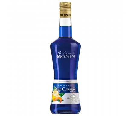 LICOR MONIN BLUE CURAÇAO 70 CL