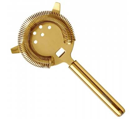 Strainer Gold Plated Hawthorn