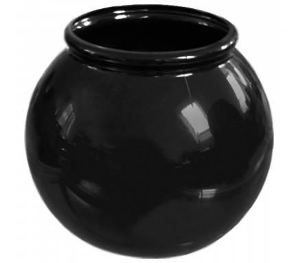 Copo Plástico Fishbowl Preto