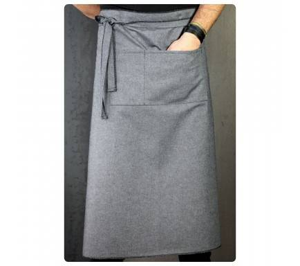 AVENTAL/COTTON JEAN WAIST APRON