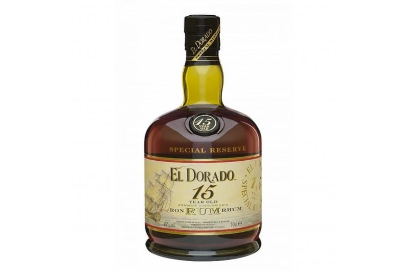 Rum El Dorado 15 Anos 70 Cl