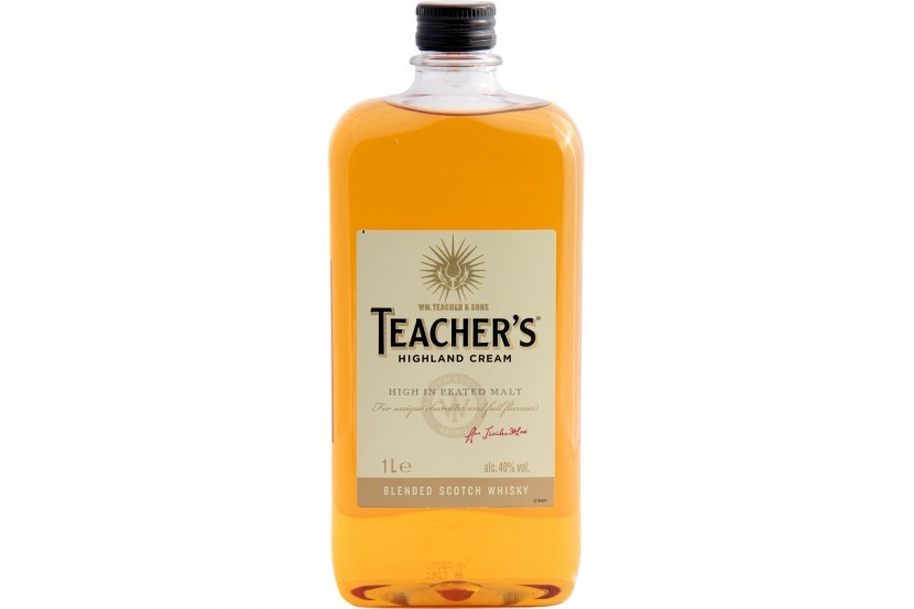 Whisky Teacher's 1 L Pet