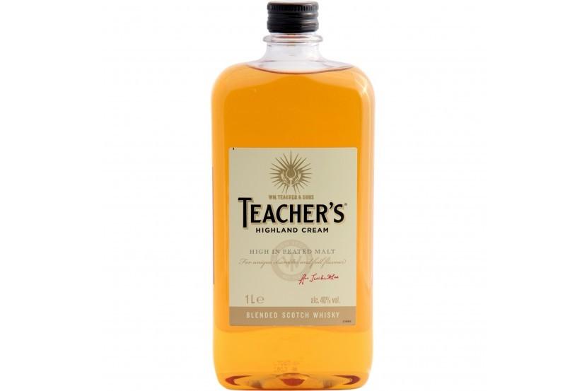 Whisky Teacher's 1 L Pet