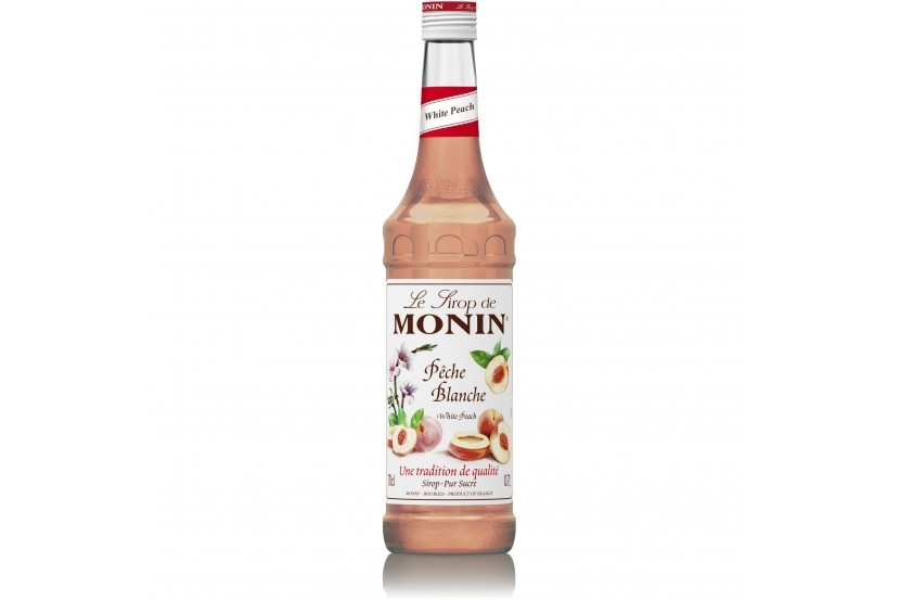 Monin Syrup White Peach 70 Cl