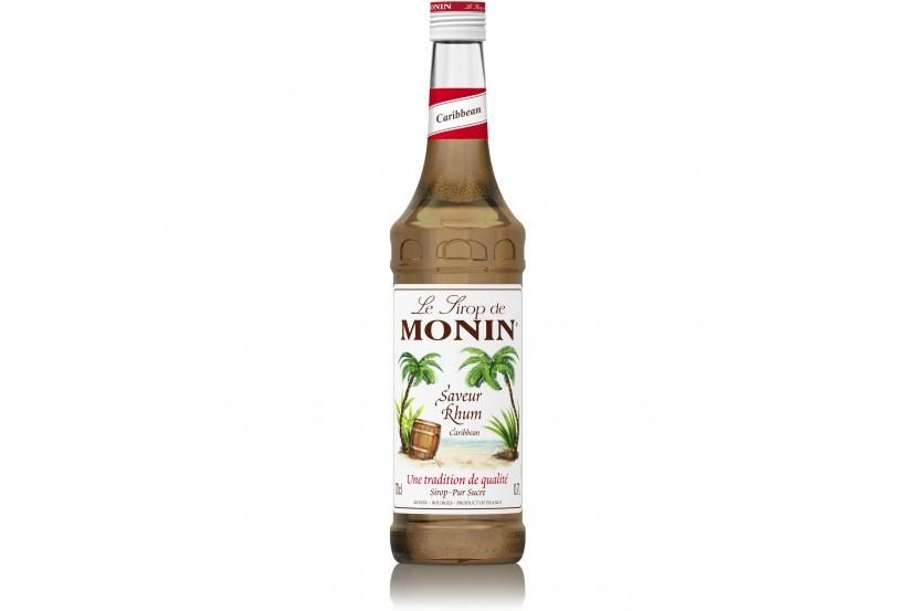Monin Sirop Rum Caraíbas 70 Cl
