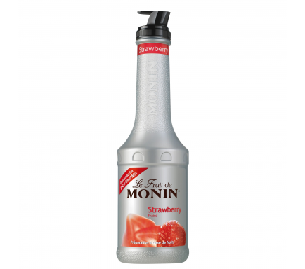Monin Puree Strawberry 1 L