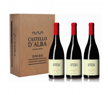 Pack Vinho Tinto Castelo D'Alba Limited Edition