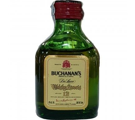 Mini Whisky Buchanans 12 Anos 5 Cl