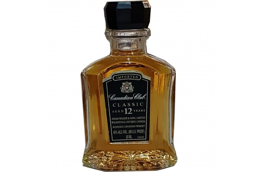 Mini Whisky Canadian Club 12 Anos 5 Cl