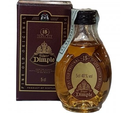 Mini Whisky Dimple 15 Anos 5 Cl