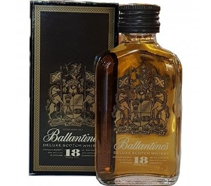 Mini Whisky Ballantines 18 Anos 5 Cl