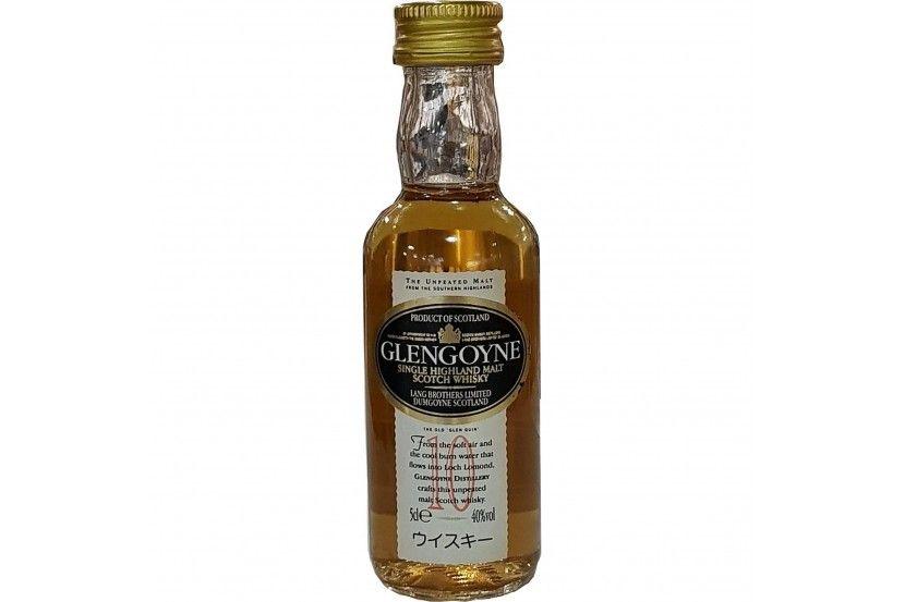 Mini Whisky Malt Glengoyne 10 Anos 5 Cl