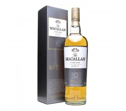 Whisky Malt Macallan 10 Anos 70 Cl