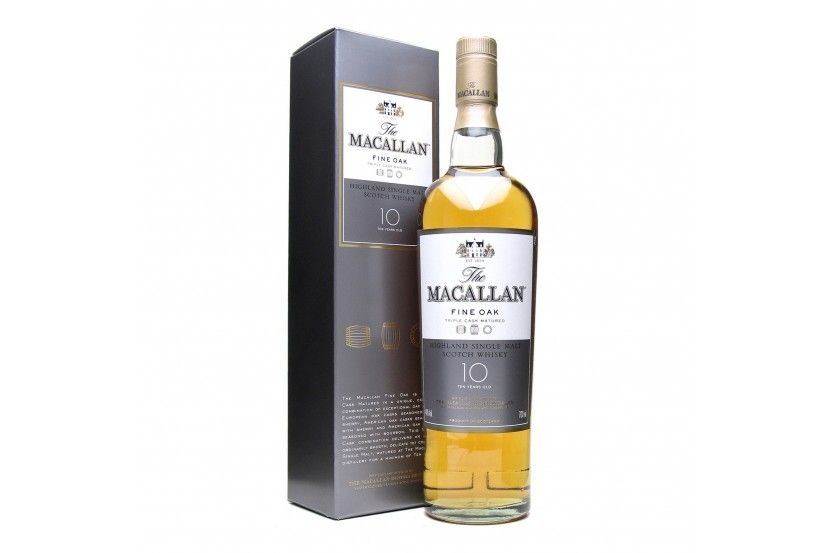 Whisky Malt Macallan 10 Anos 70 Cl