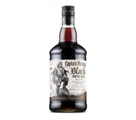 Rum Captain Morgan Black Spiced 1 L