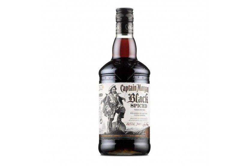 Rum Captain Morgan Black Spiced 1 L
