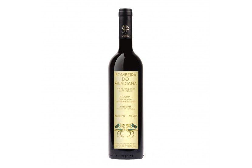 Vinho Tinto Bombeira Guadiana Trincadeira 75 cl