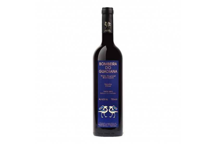 Red Wine Bombeira Guadiana Syrah 75 cl