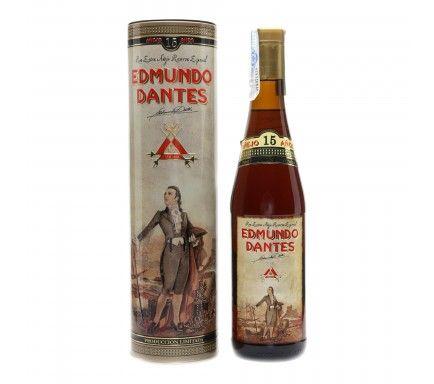 Rum Edmundo Dantes Reserva 15 anos 70 Cl