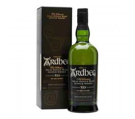 Whisky Malt Ardbeg 10 Anos 70 Cl