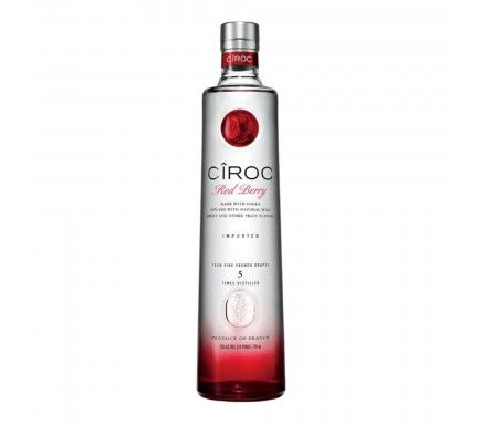 Vodka Ciroc Red Berry 70 Cl