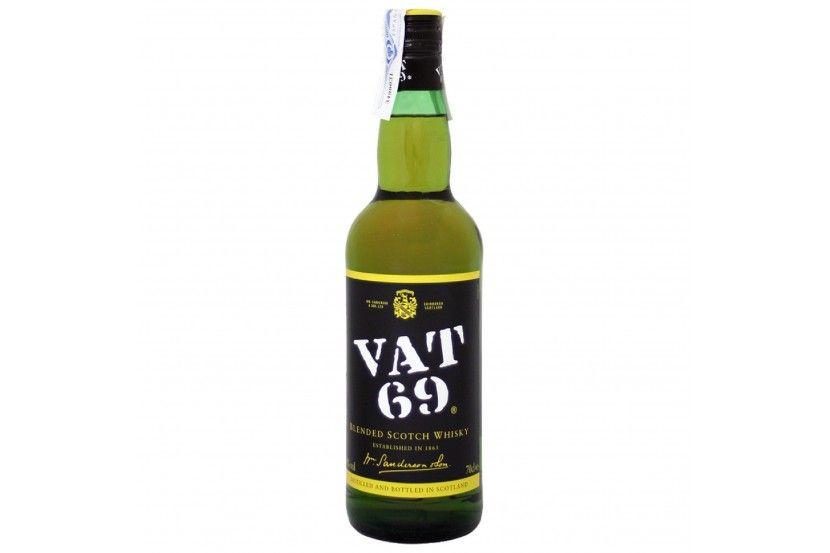 Whisky Vat 69 70 Cl