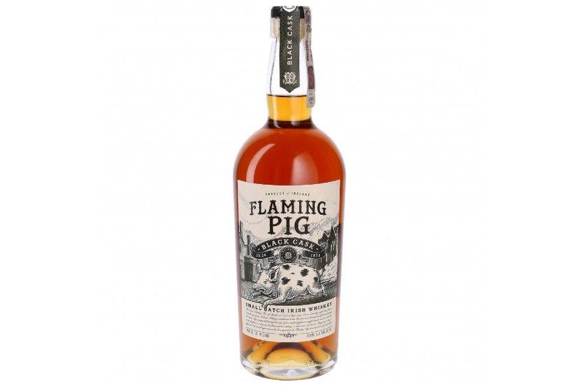 Whisky Flaming Pig Black Cask 70 Cl