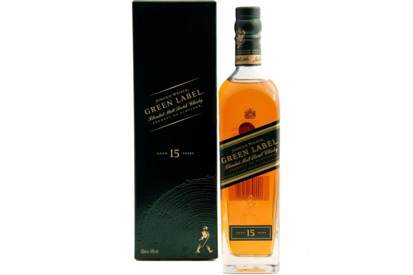 Whisky Malt Johnnie Walker Green 70 Cl