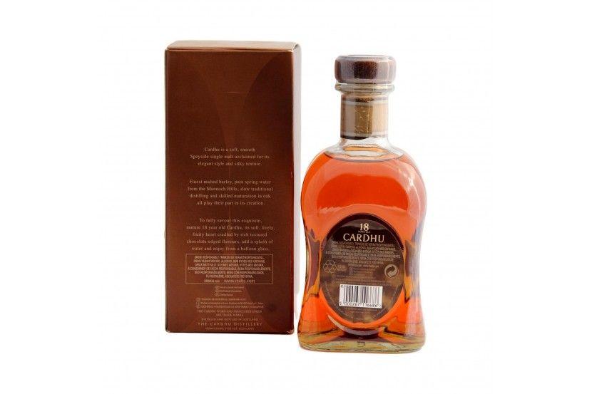 Whisky Malt Cardhu 18 Anos 70 Cl