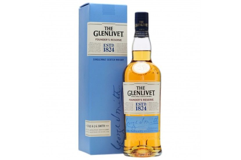 Whisky Malt Glenlivet Founder's Reserve 70 Cl