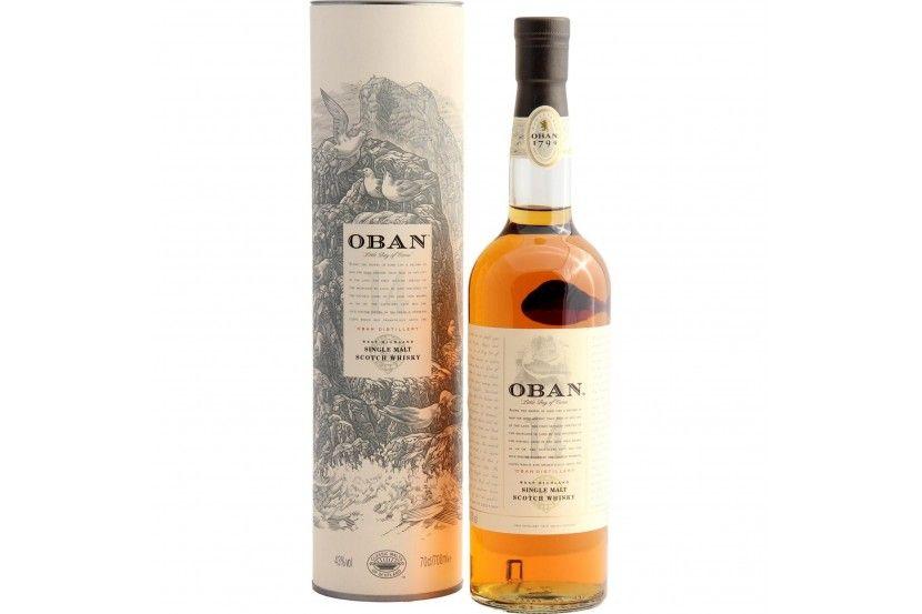 Whisky Malt Oban 14 Anos 70 Cl