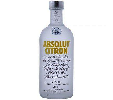 Vodka Absolut Citron 70 Cl