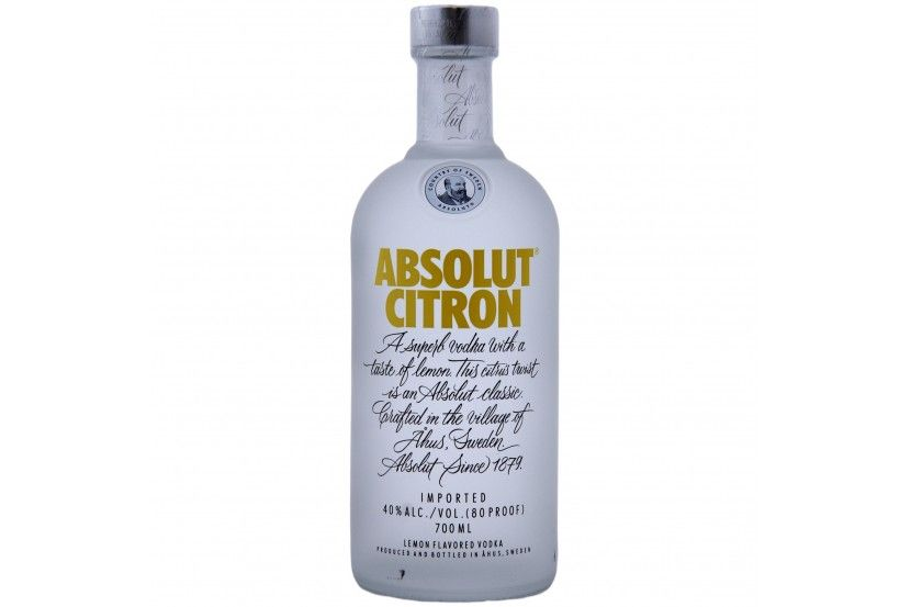 Vodka Absolut Citron 70 Cl