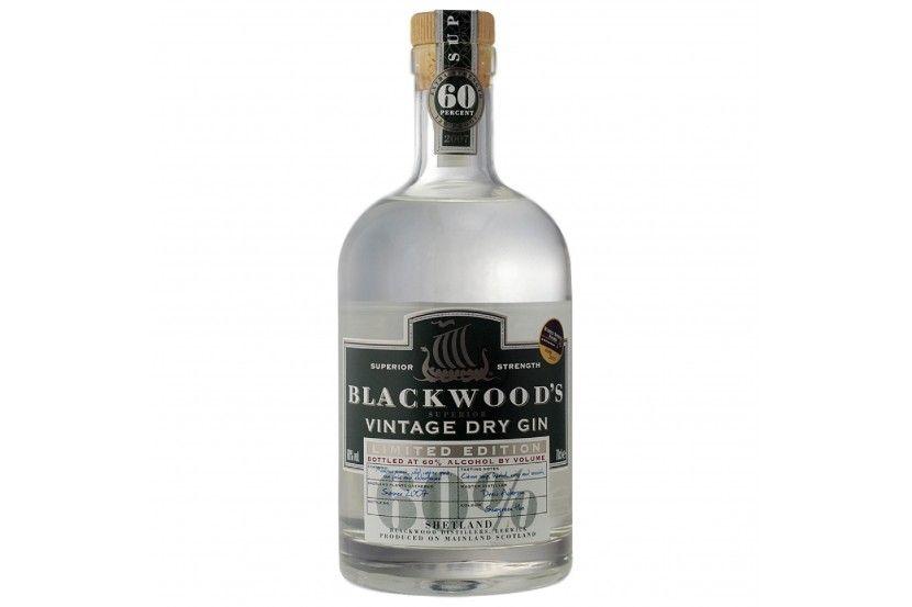 Gin Blackwood Vintage Dry 70 Cl (60º)
