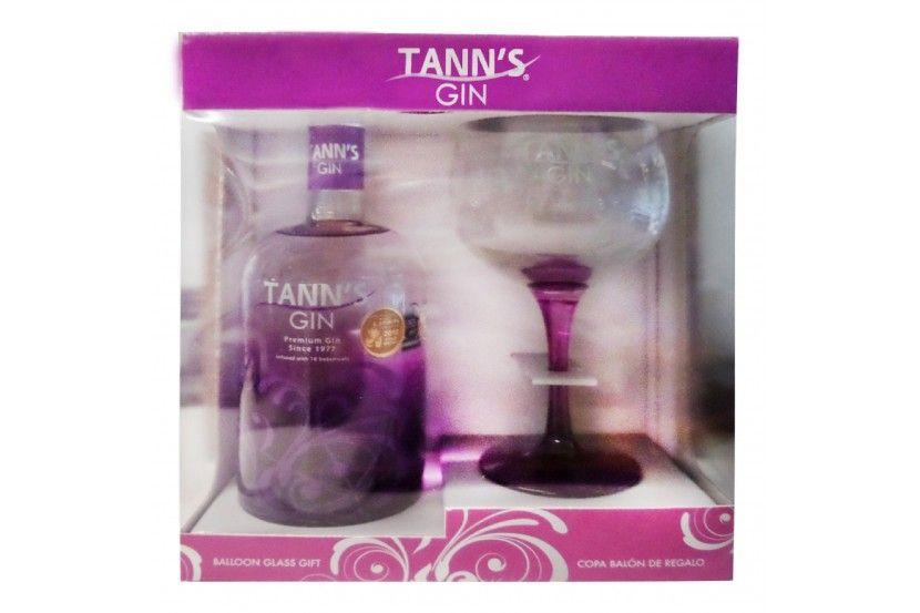 Gin Tann's Premium C/ Copo 70 Cl