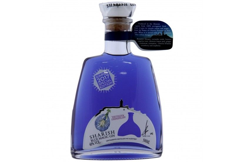 Gin Sharish Blue Magic 50 Cl