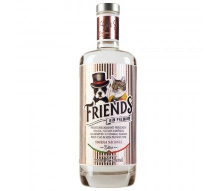 Gin Friends Premium Touriga Nacional 70 Cl