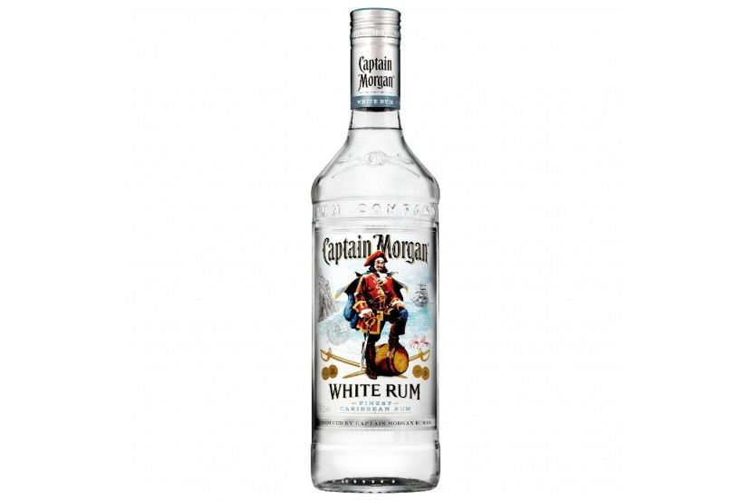 Rum Captain Morgan White 70 Cl