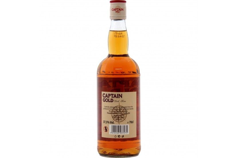 Rum Captain Gold 70 Cl