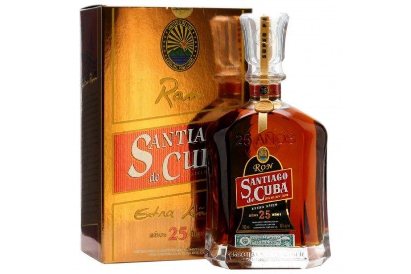 Rum Santiago De Cuba 25 Anos 70 Cl